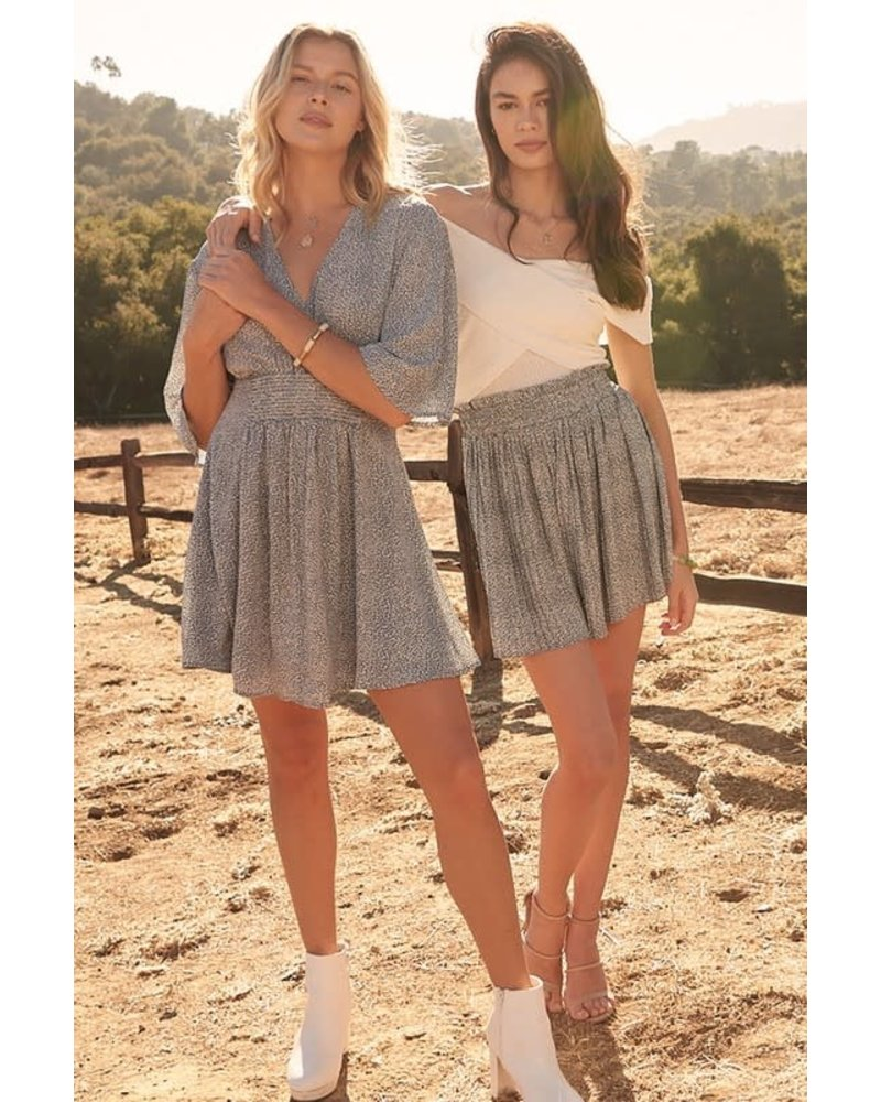 EM & ELLE Florek Mini Dress
