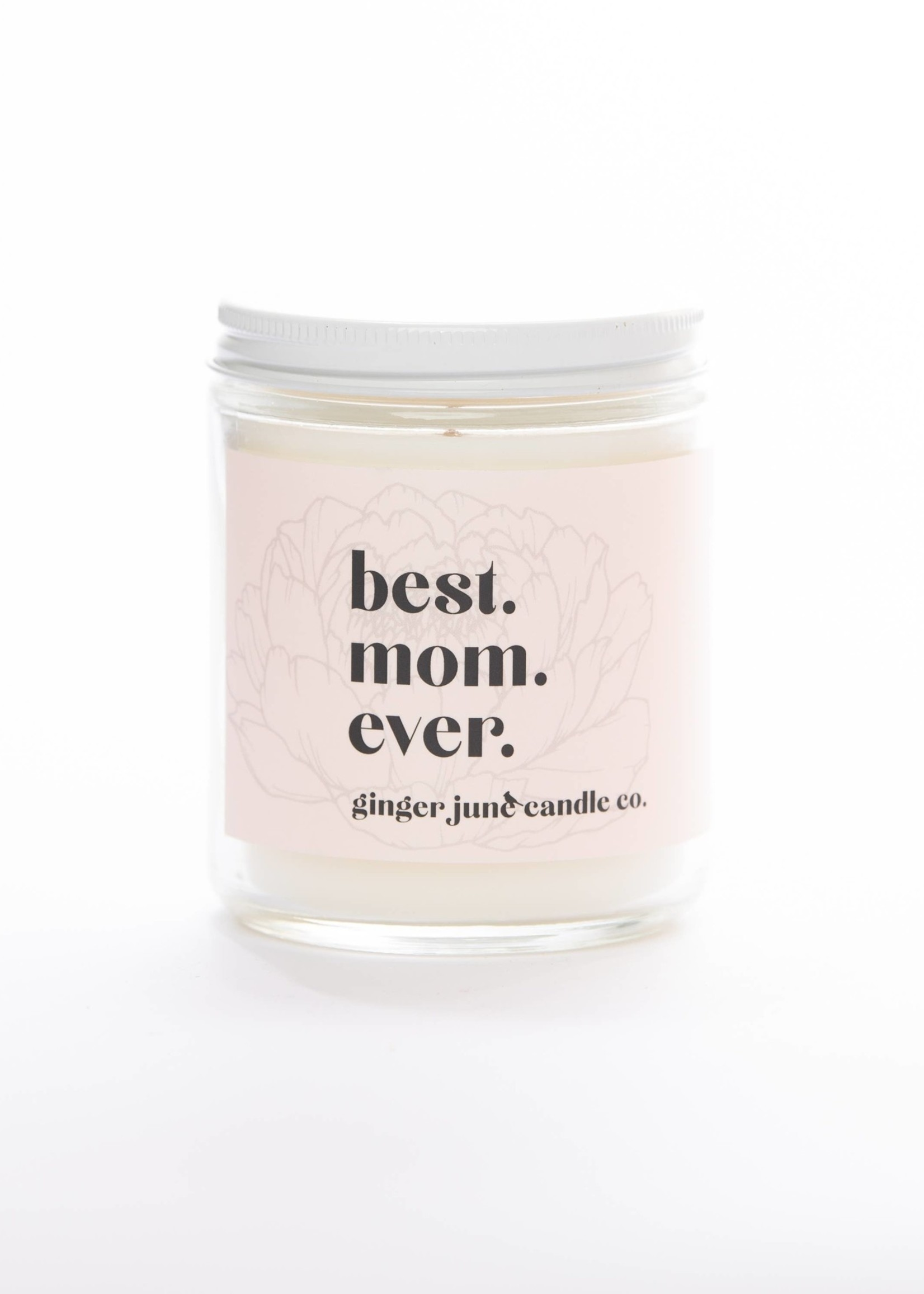 Ginger June Candle Co. BEST MOM EVER • NON TOXIC SOY CANDLE