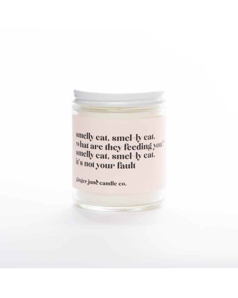 Ginger June Candle Co. SMELLY CAT, SMEL-LY CAT • NON TOXIC SOY CANDLE