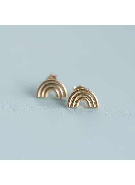 helmsie Rainbow Earrings 16k-GP