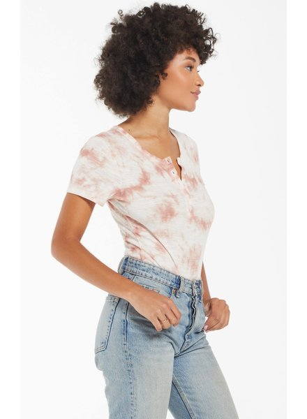Z Supply Lynn Tie-Dye Slub Bodysuit