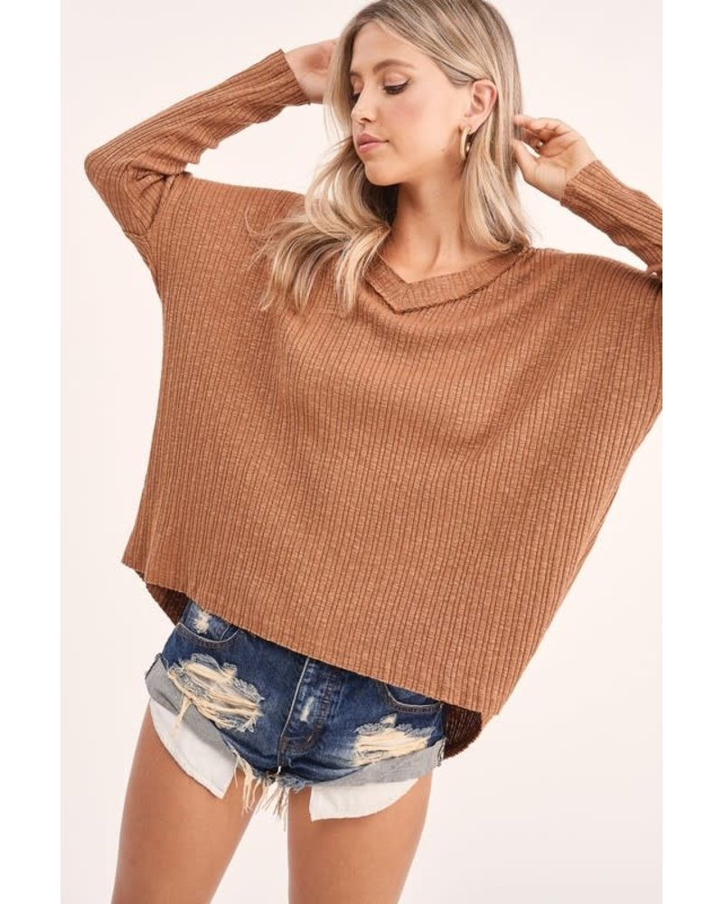 EM & ELLE In the Know Knit Top