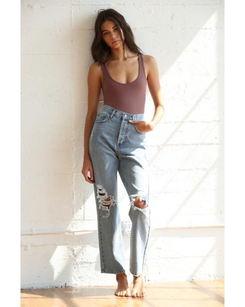 EM & ELLE Heartbreaker Distressed Jeans