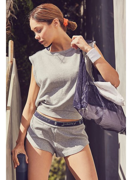Free People Luxe Rib Short