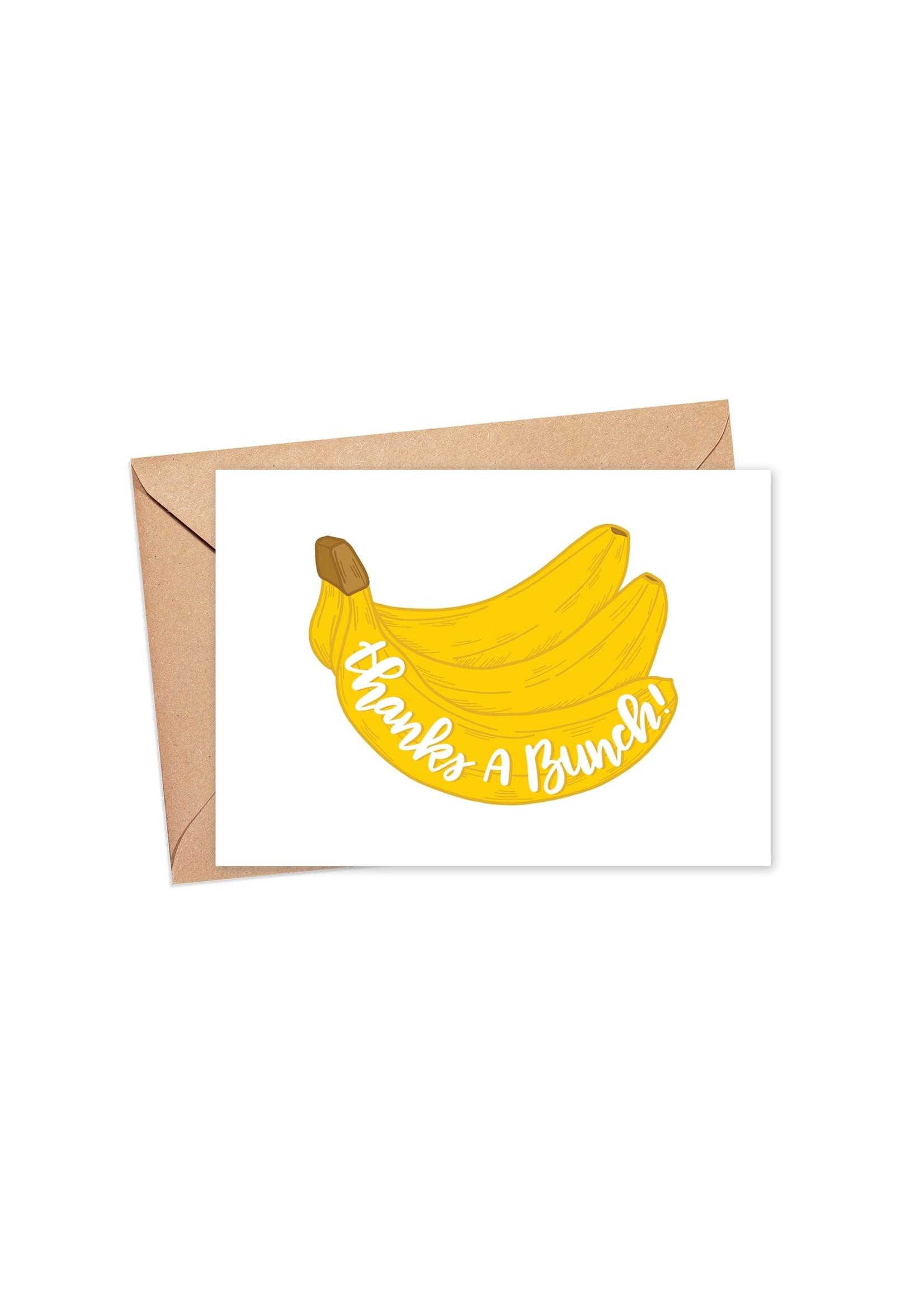 Sam's Simple Decor Thanks A Bunch Card