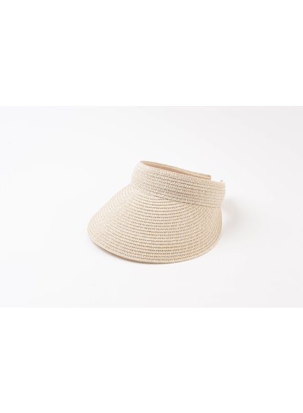 Lucca Couture HELI VISOR - IVORY TWEED