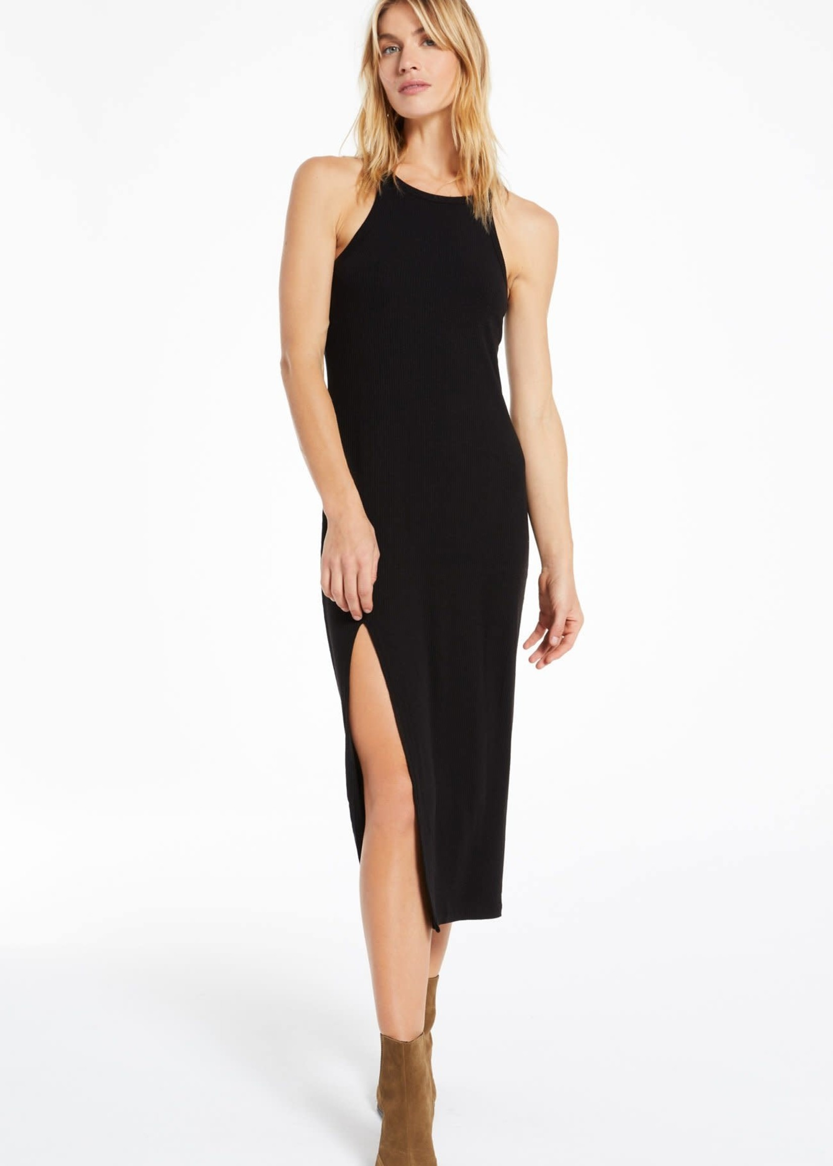 Z Supply Palisades Rib Midi Dress