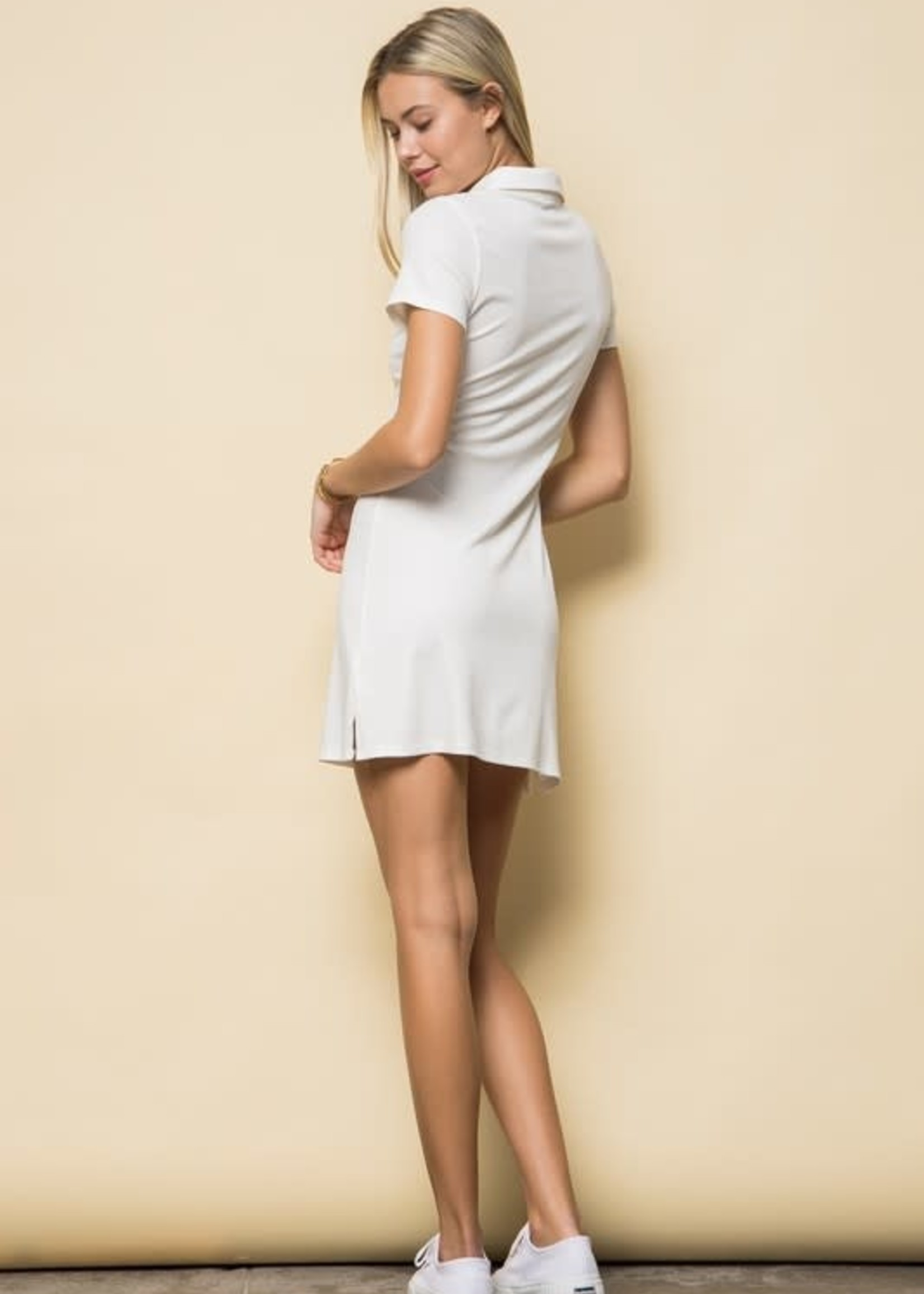 EM & ELLE Marissa Collared Dress