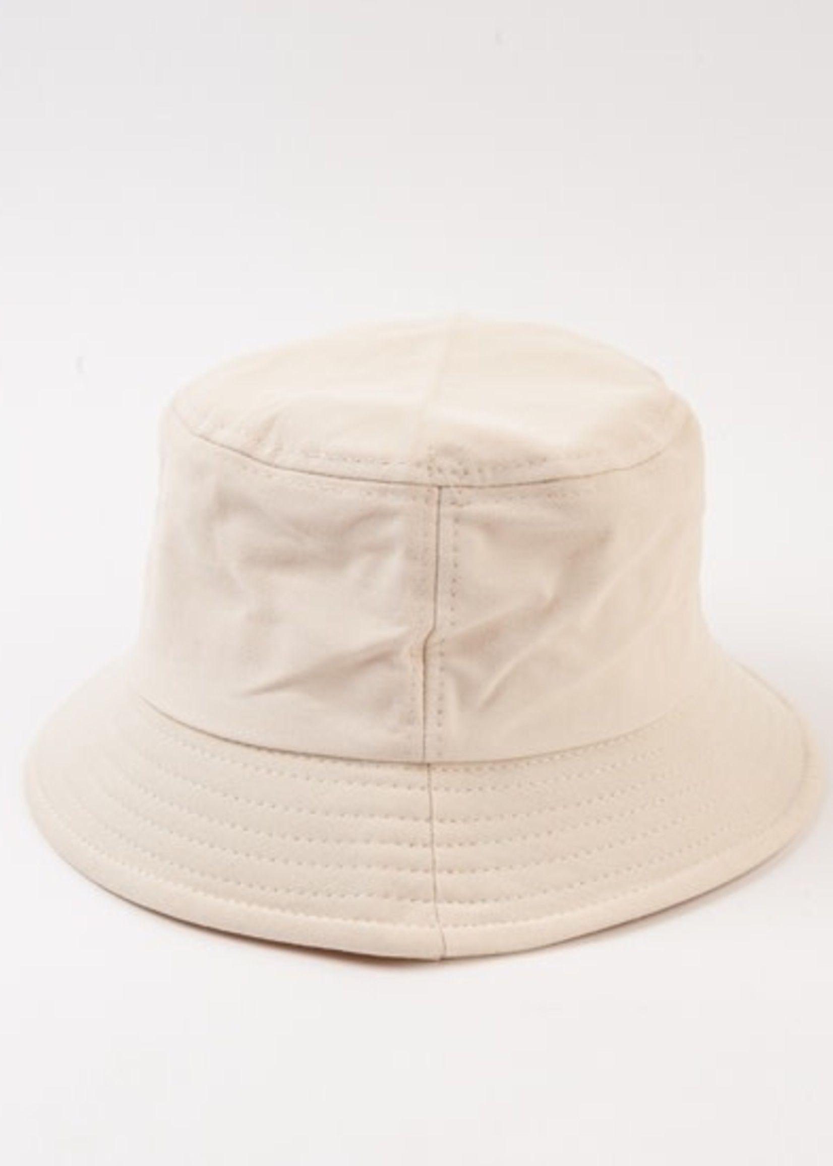 Lucca Couture ROCA CANVAS Bucket Hat - NATURAL