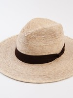 Lucca Couture Los Santos Palm Fedora with Trim