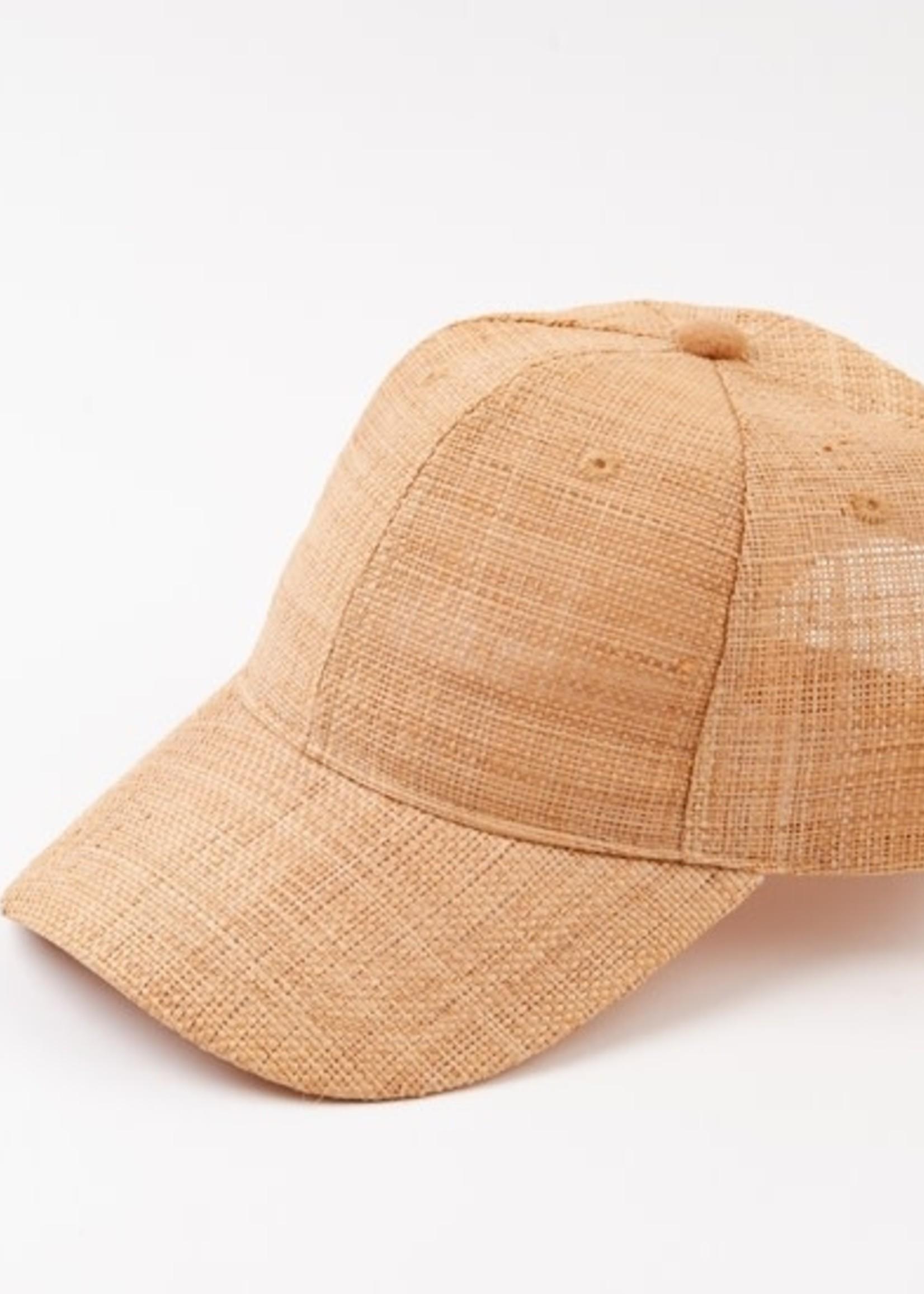 Lucca Couture NAMJE BB CAP - RAFFIA NATURAL