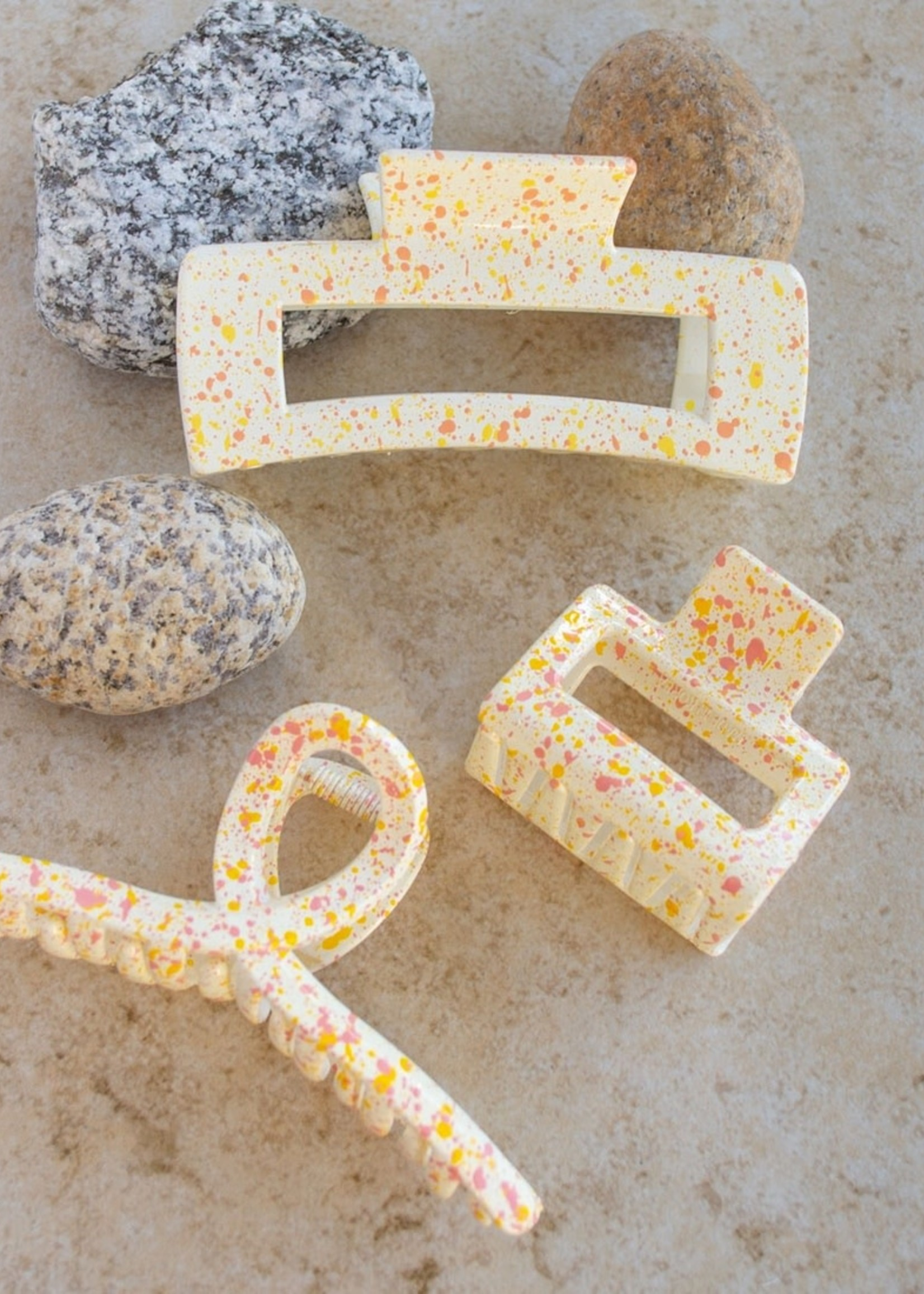 EM & ELLE Becky Confetti Claw Clip