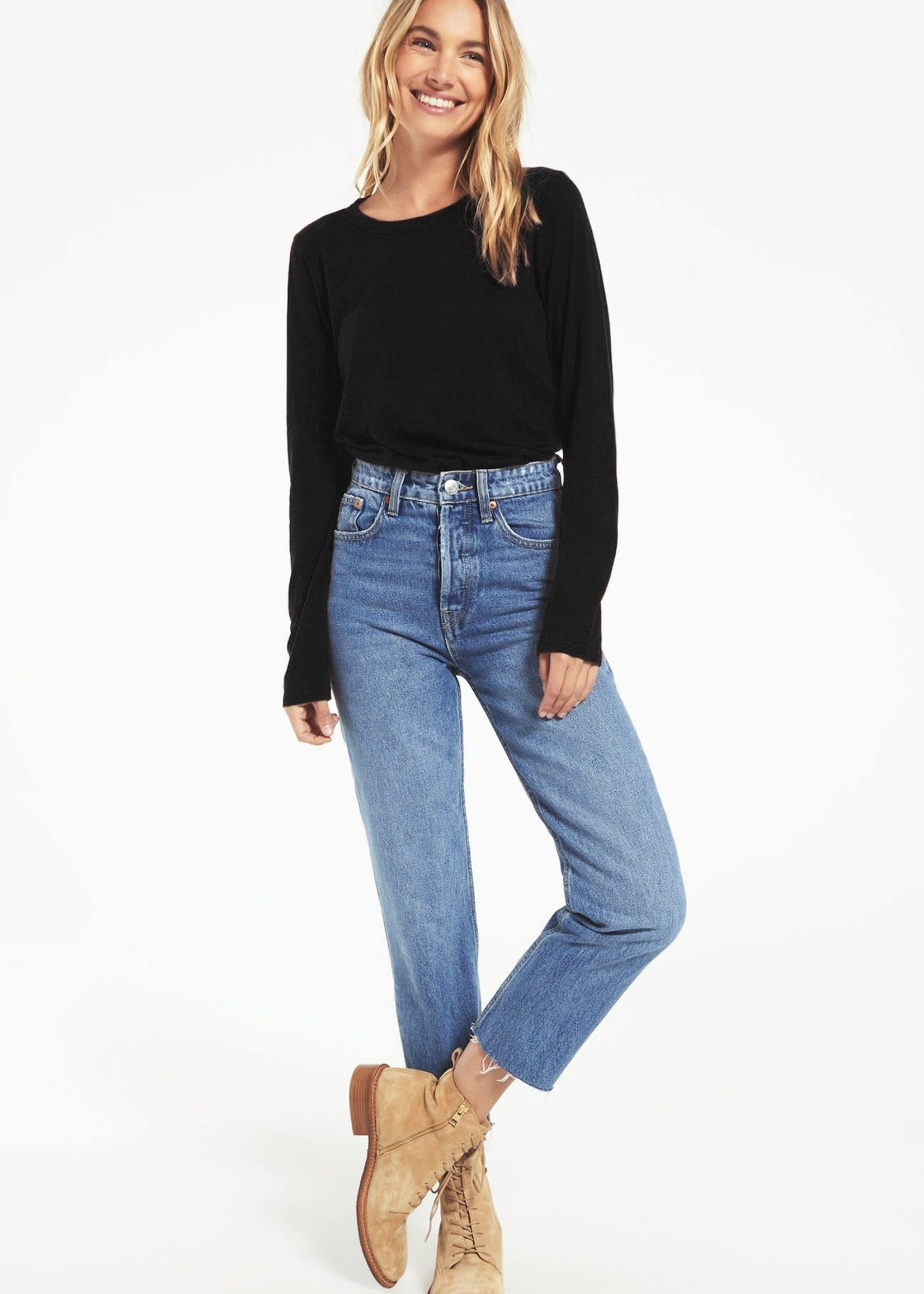 Z Supply Everyday Brushed Long Sleeve Top