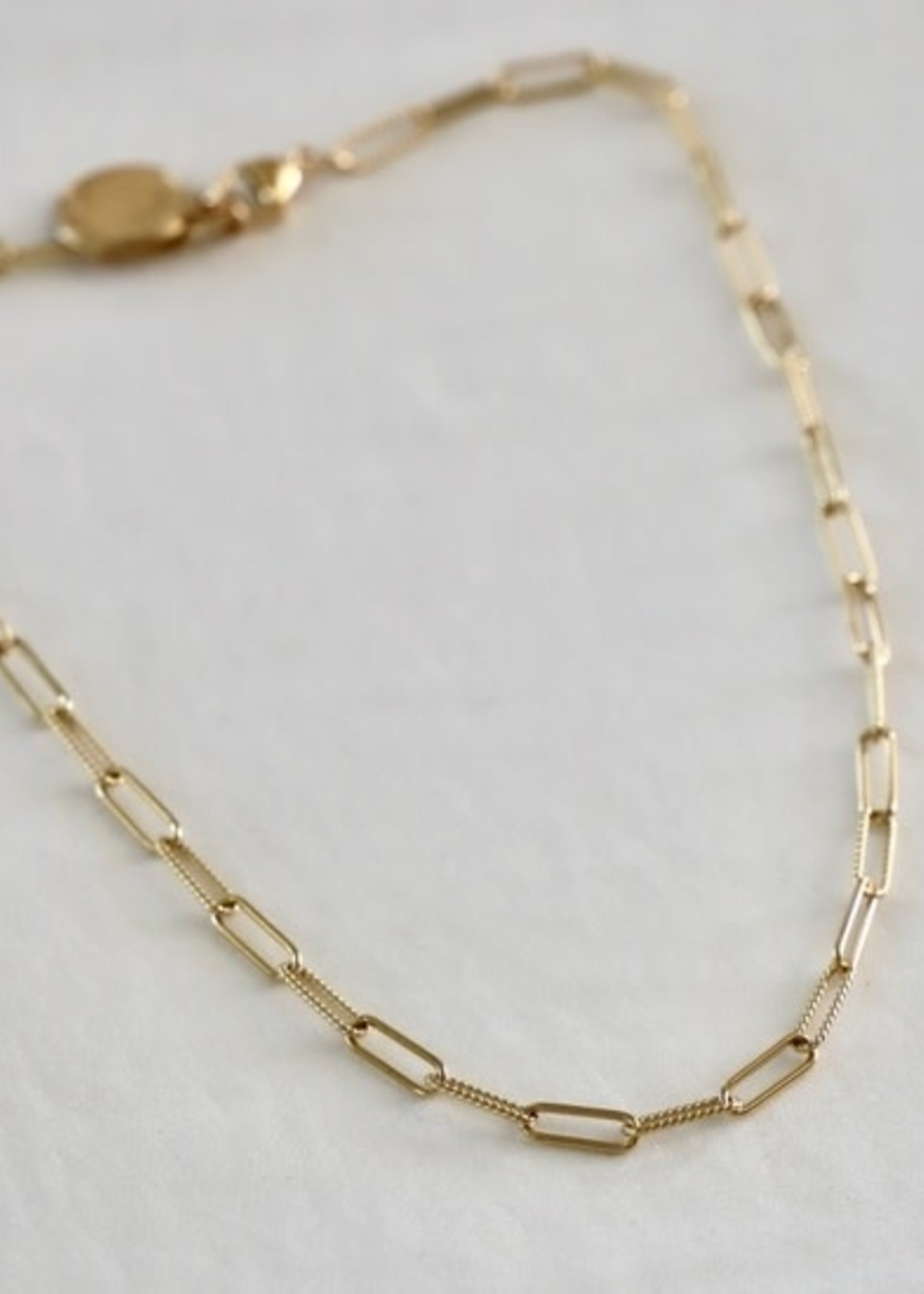 Katie Waltman Jewelry ELONGATED CHAIN WITH VINTAGE COIN