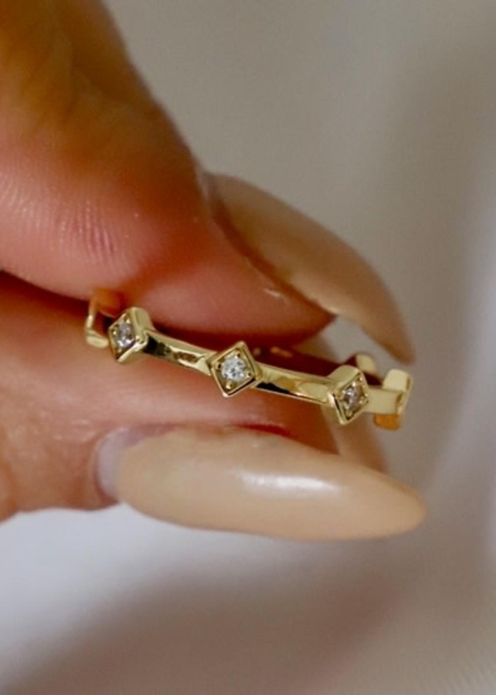 Katie Waltman Jewelry DIAMOND CROWN BAND
