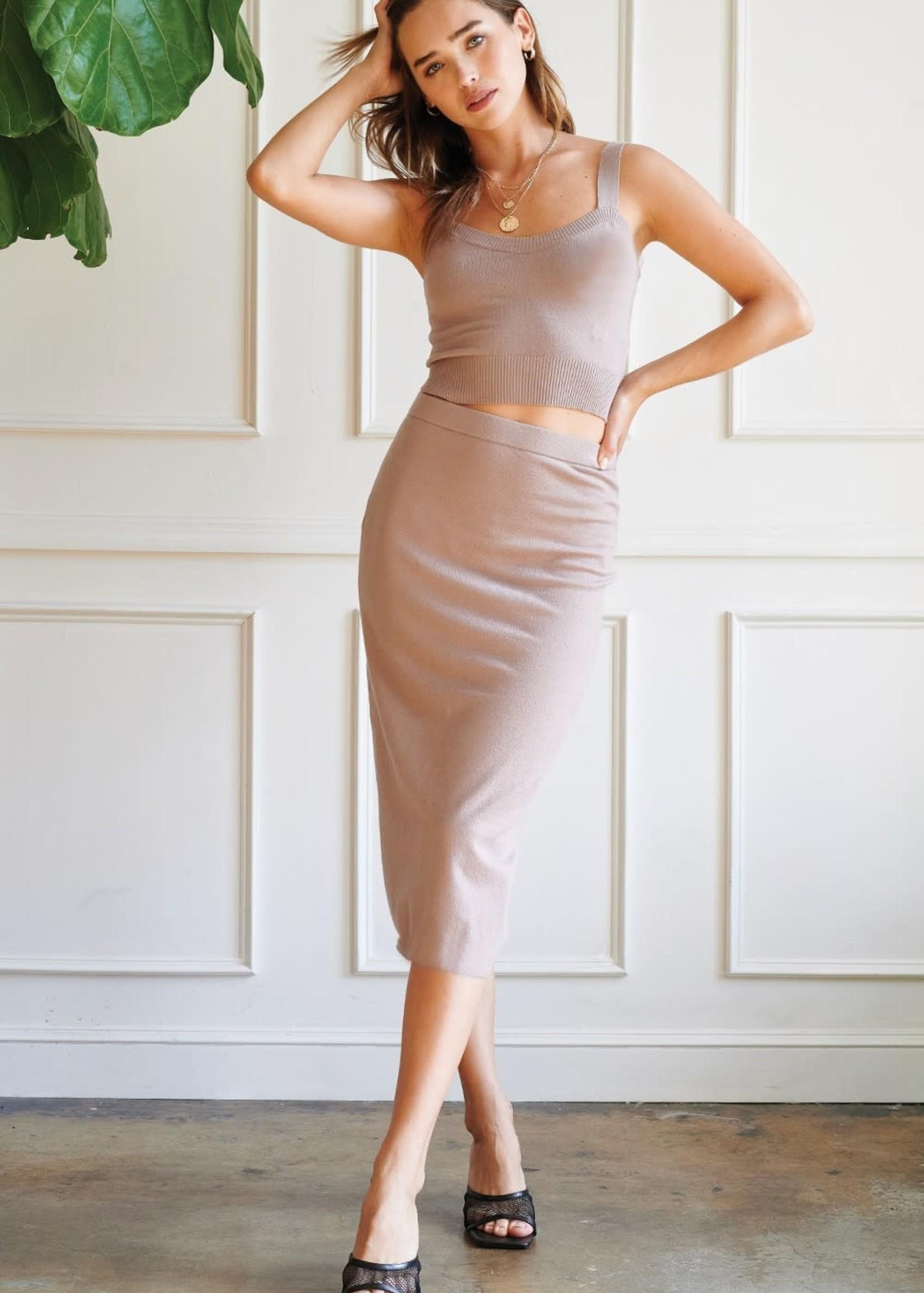 EM & ELLE Dominique Knit Set Skirt