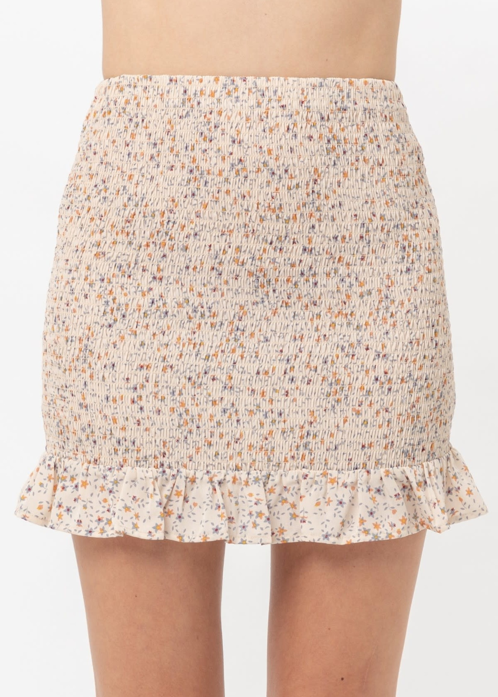 EM & ELLE Pheonix Printed Skirt