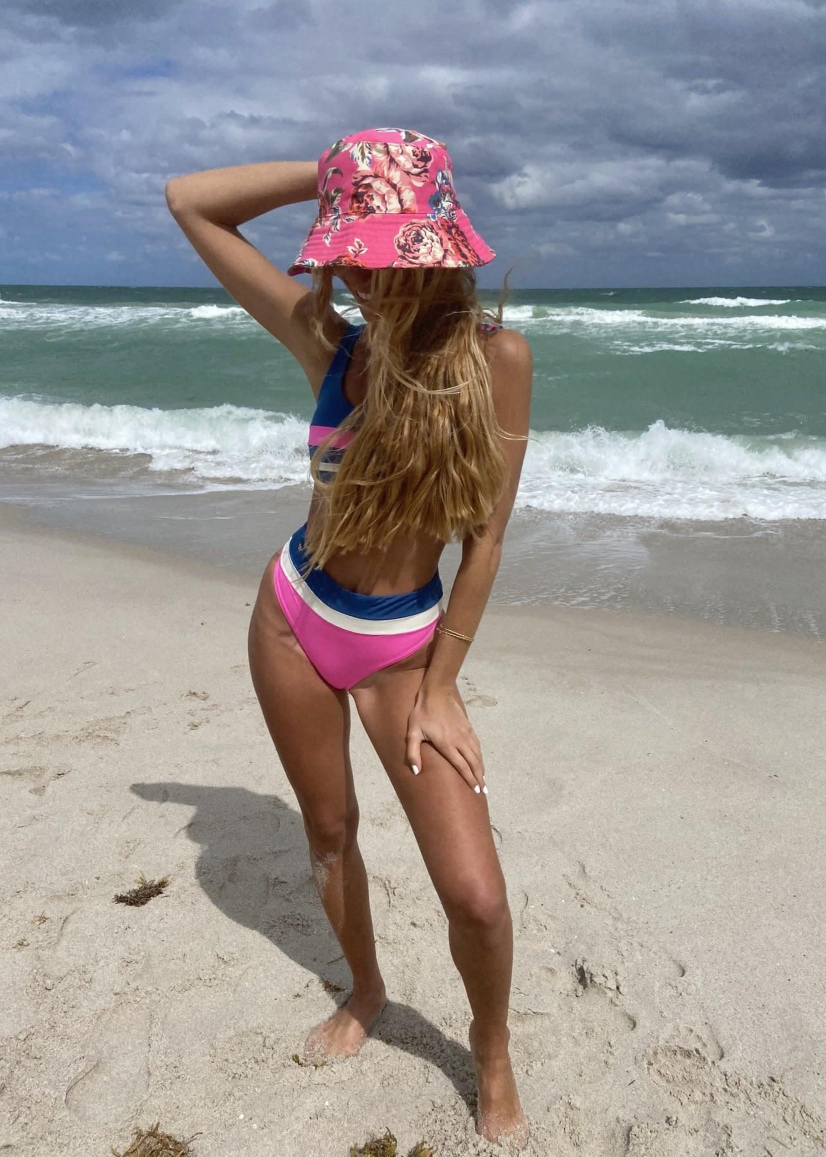 Maaji Fuchsia Prussian Izzy Bikini Top