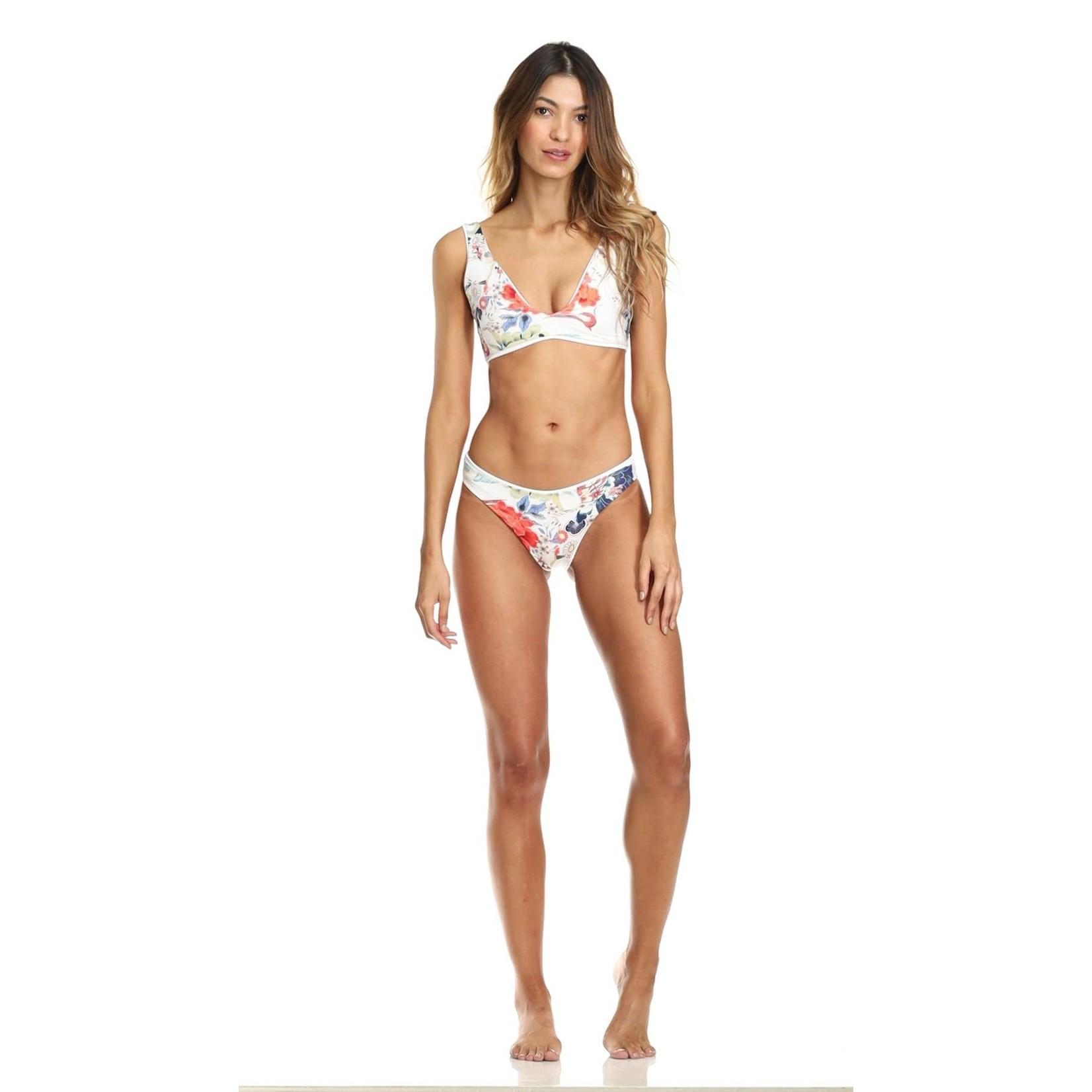 Maaji Sky White Sublimity Bikini Bottom