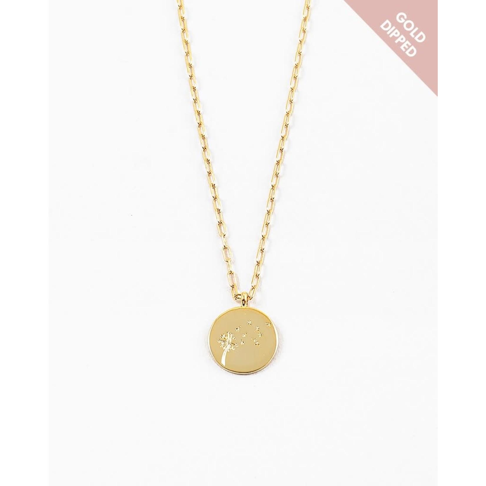 EM & ELLE Dandelion Necklace