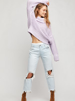Free People Maggie Mid Rise Straight