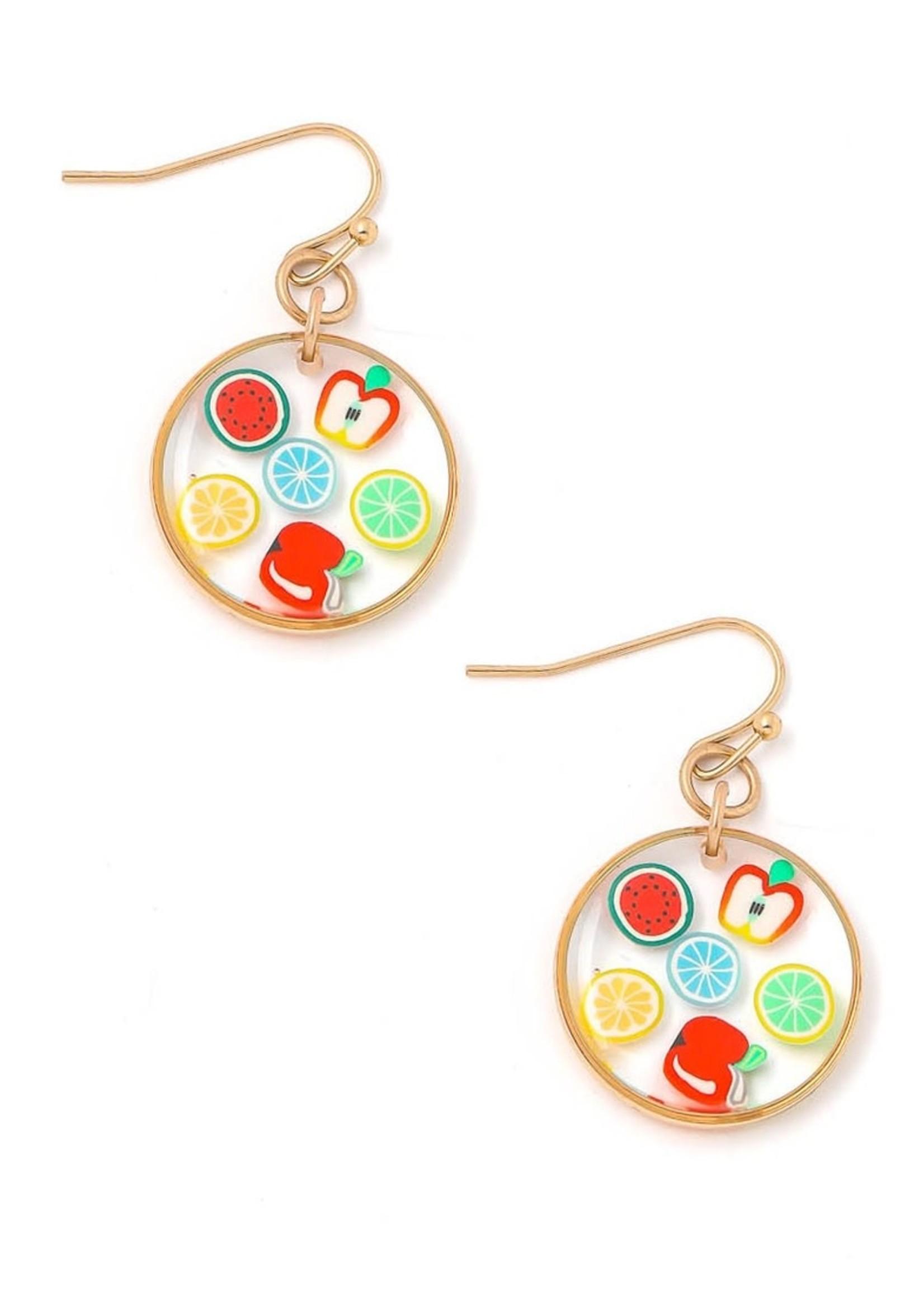 EM & ELLE Fruity Circle Earring