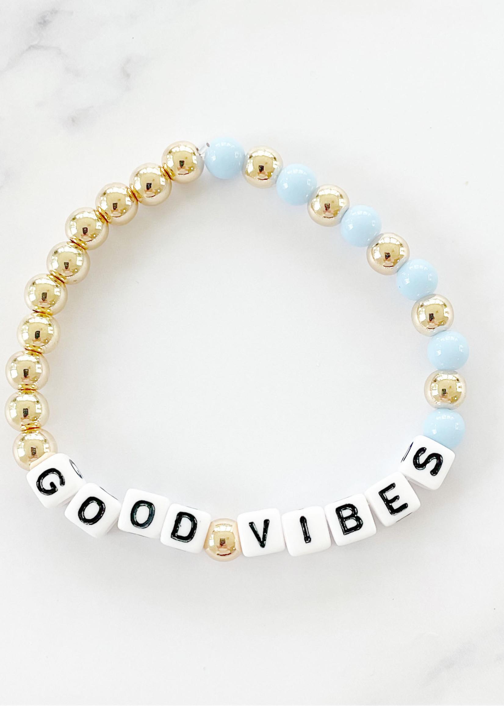 EM & ELLE Good Vibes Bracelet