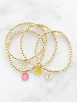 EM & ELLE Daisy Charm Bracelet