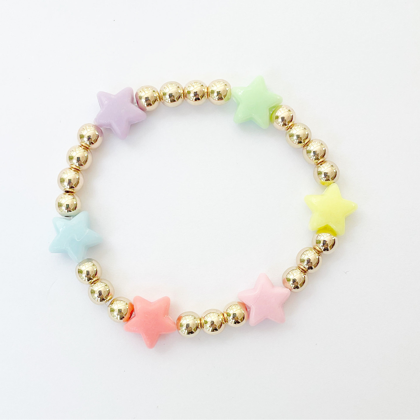 EM & ELLE Rainbow Stars Bracelet