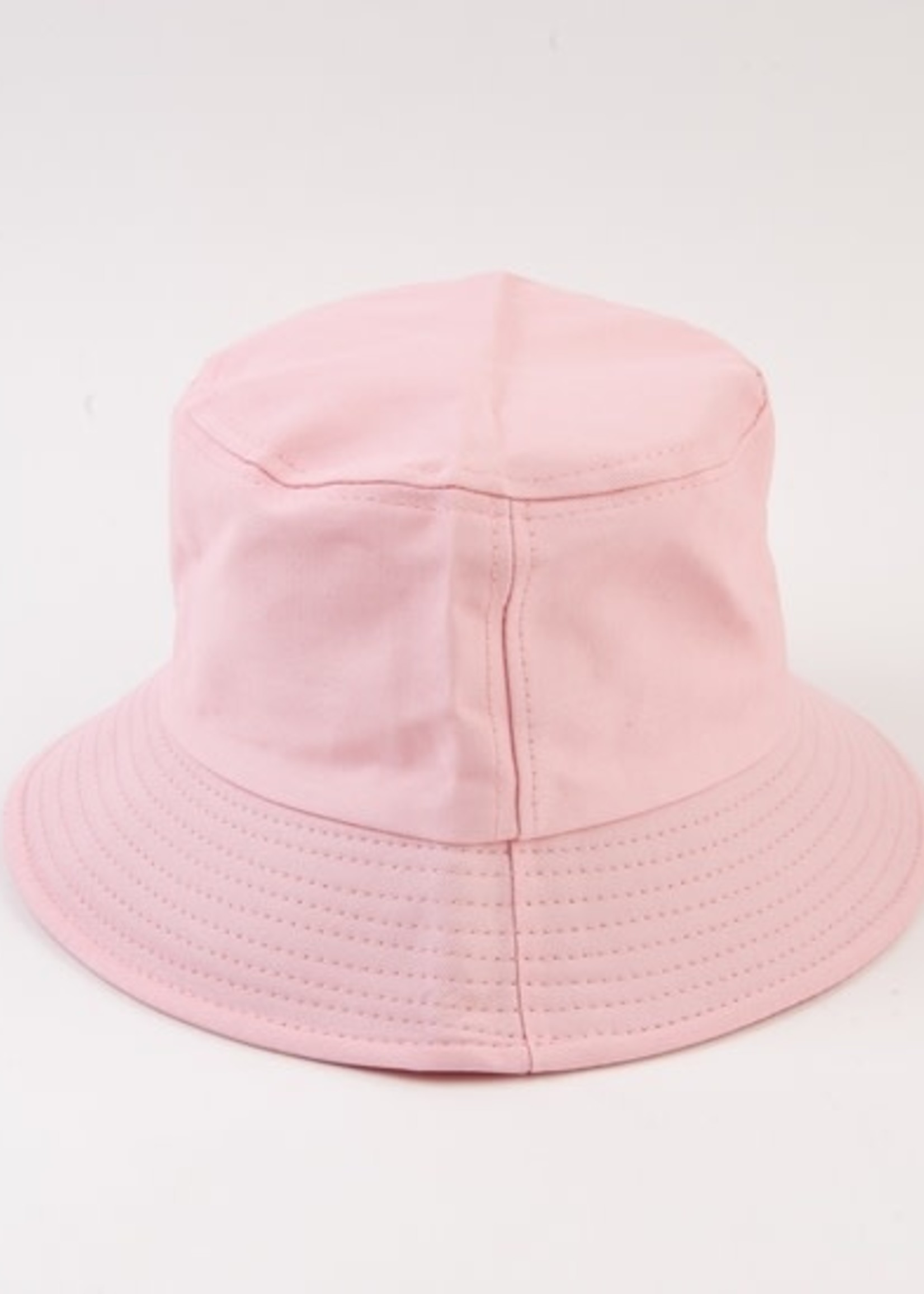 Lucca Couture ROCA CANVAS Bucket Hat - COTTON CANDY