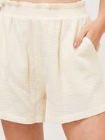 EM & ELLE Vance Crinkled Shorts