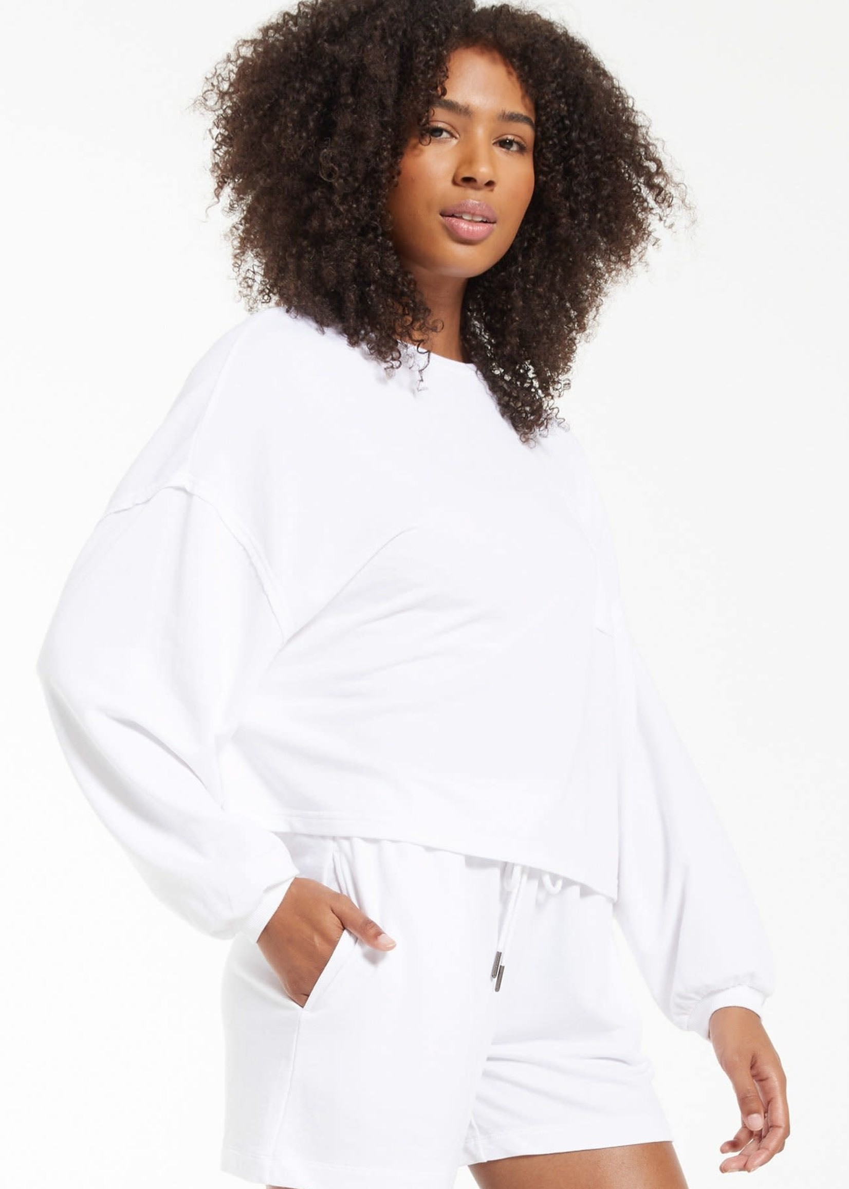 Z Supply Miki Terry Long Sleeve
