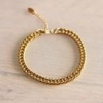 Steel Bracelet Large - Gold