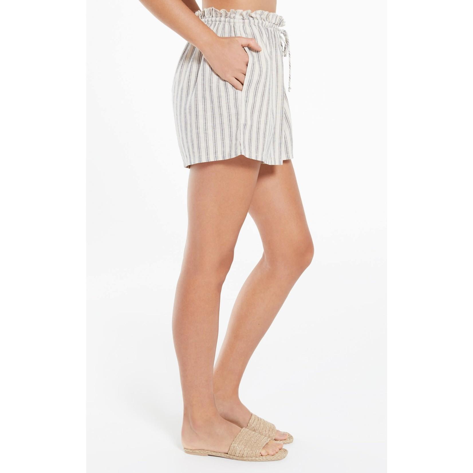 Z Supply Cay Stripe Short