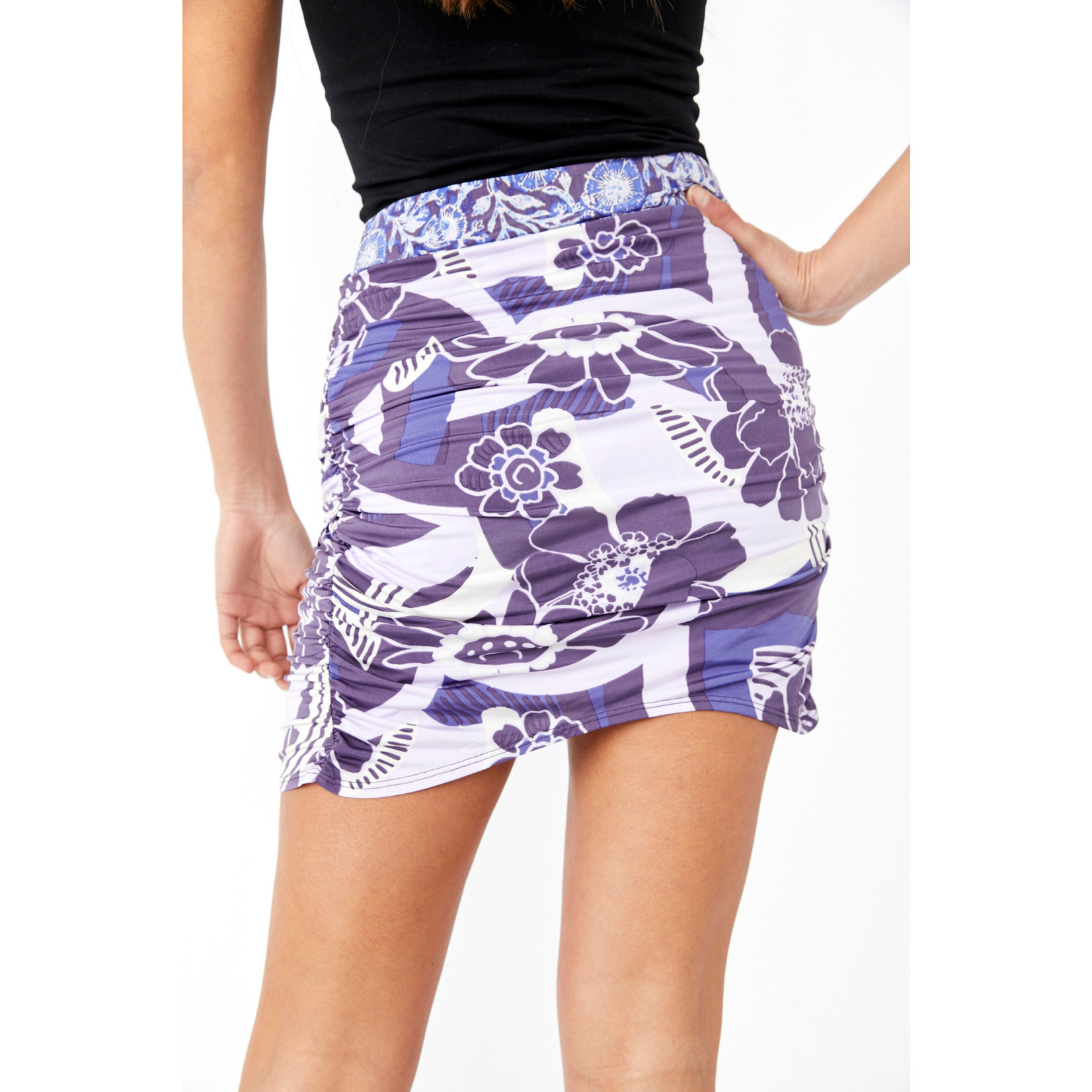 Free People She's Something Else Printed Skirt