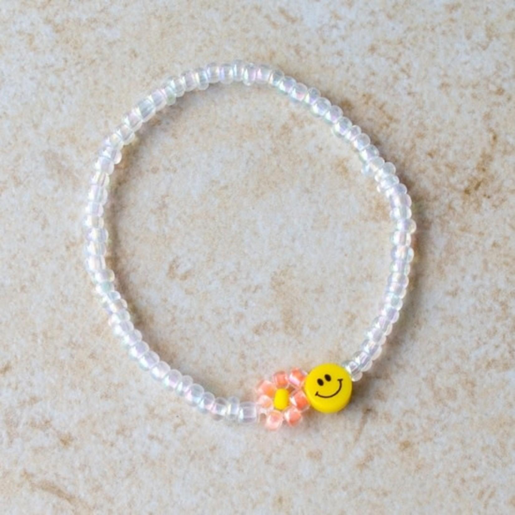 EM & ELLE Happy Beaded Bracelet