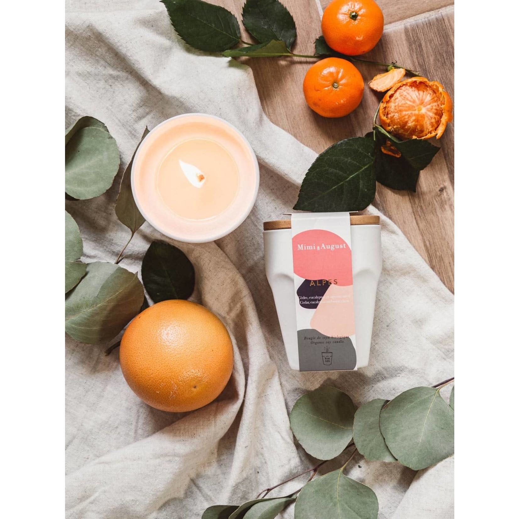 Mimi & August Soy Reuseable Candle
