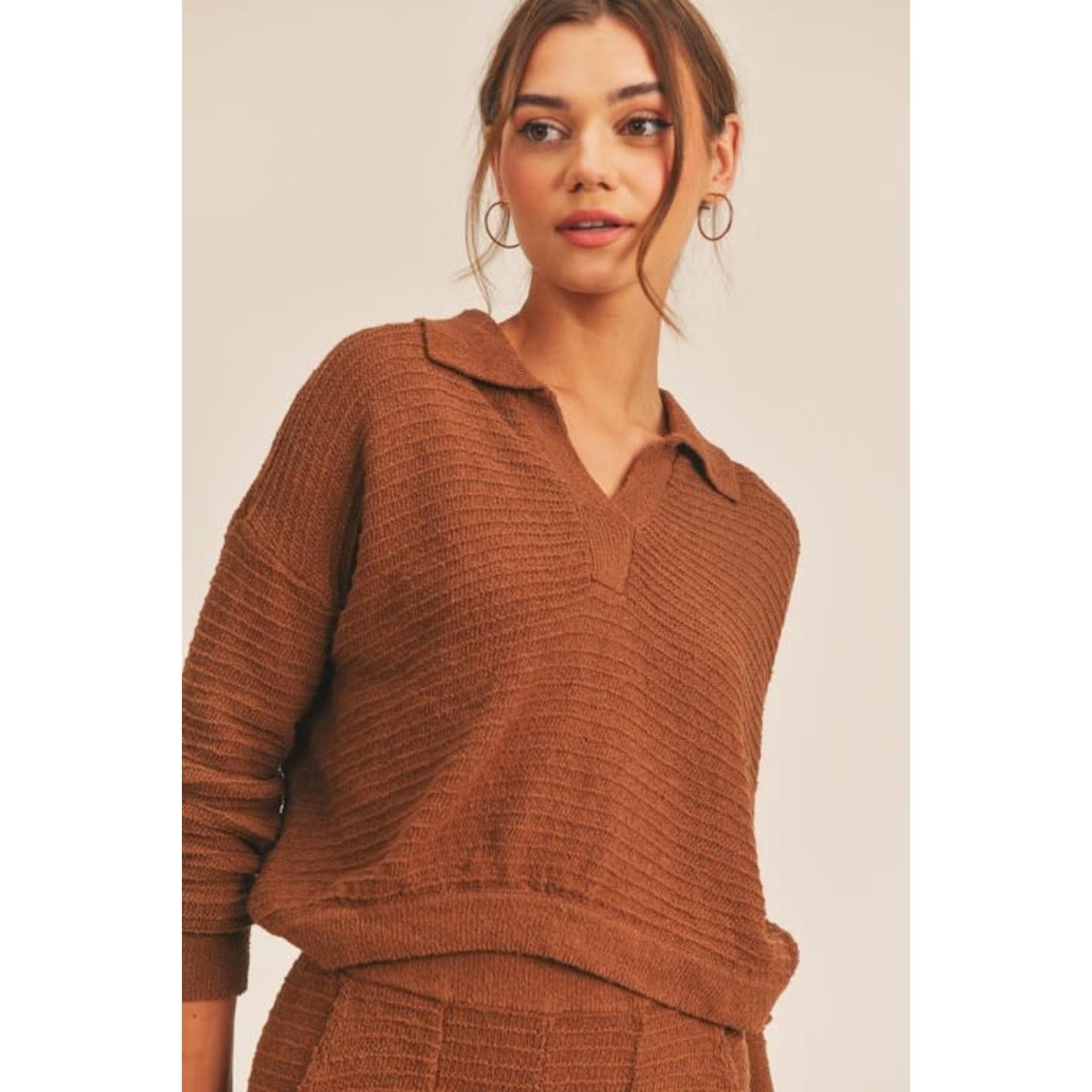 EM & ELLE Modern Knit Top
