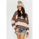 EM & ELLE Kona Striped Sweater