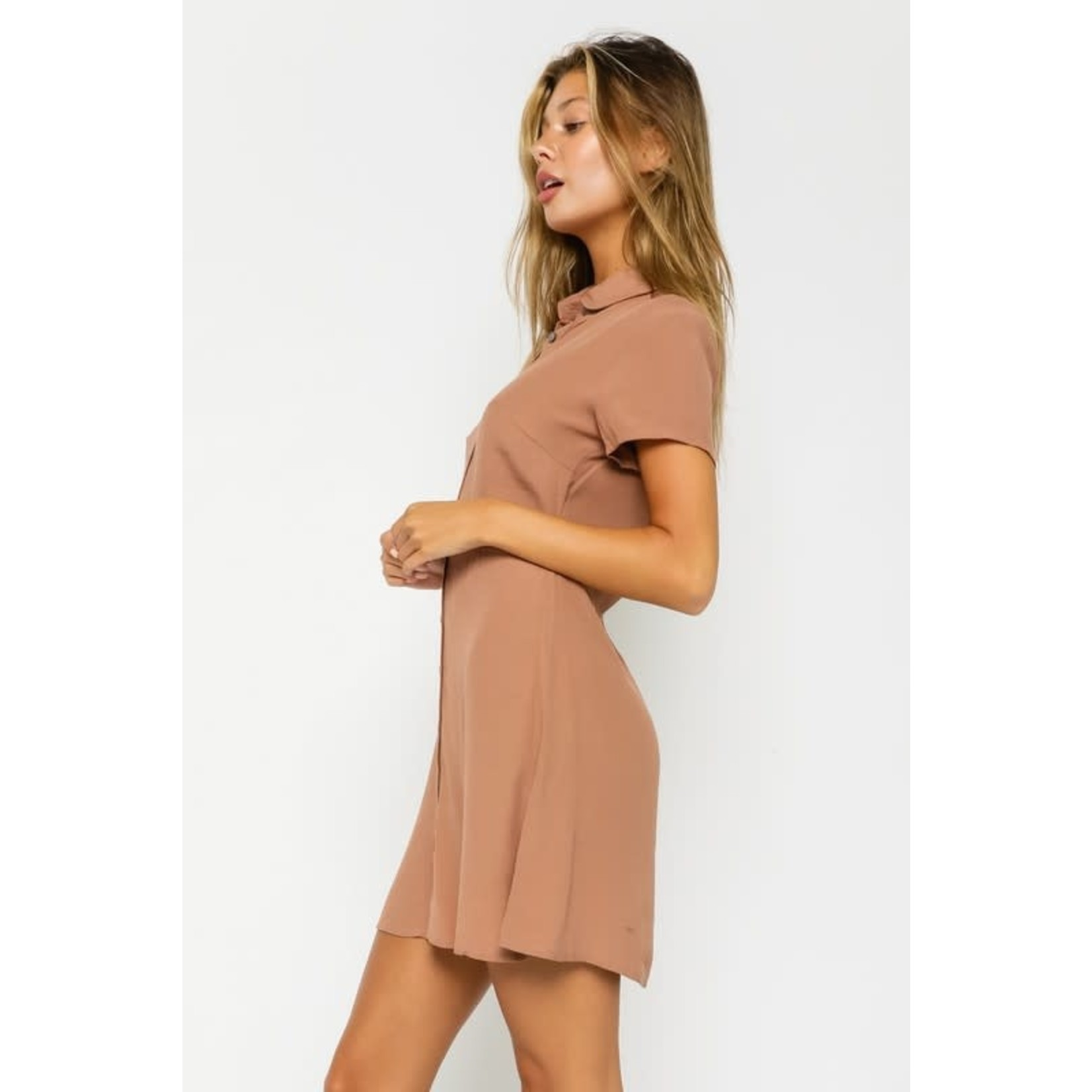 EM & ELLE Lucille Shirt Dress