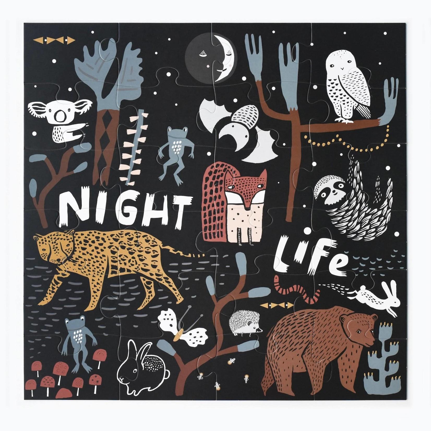 Night Life Floor Puzzle