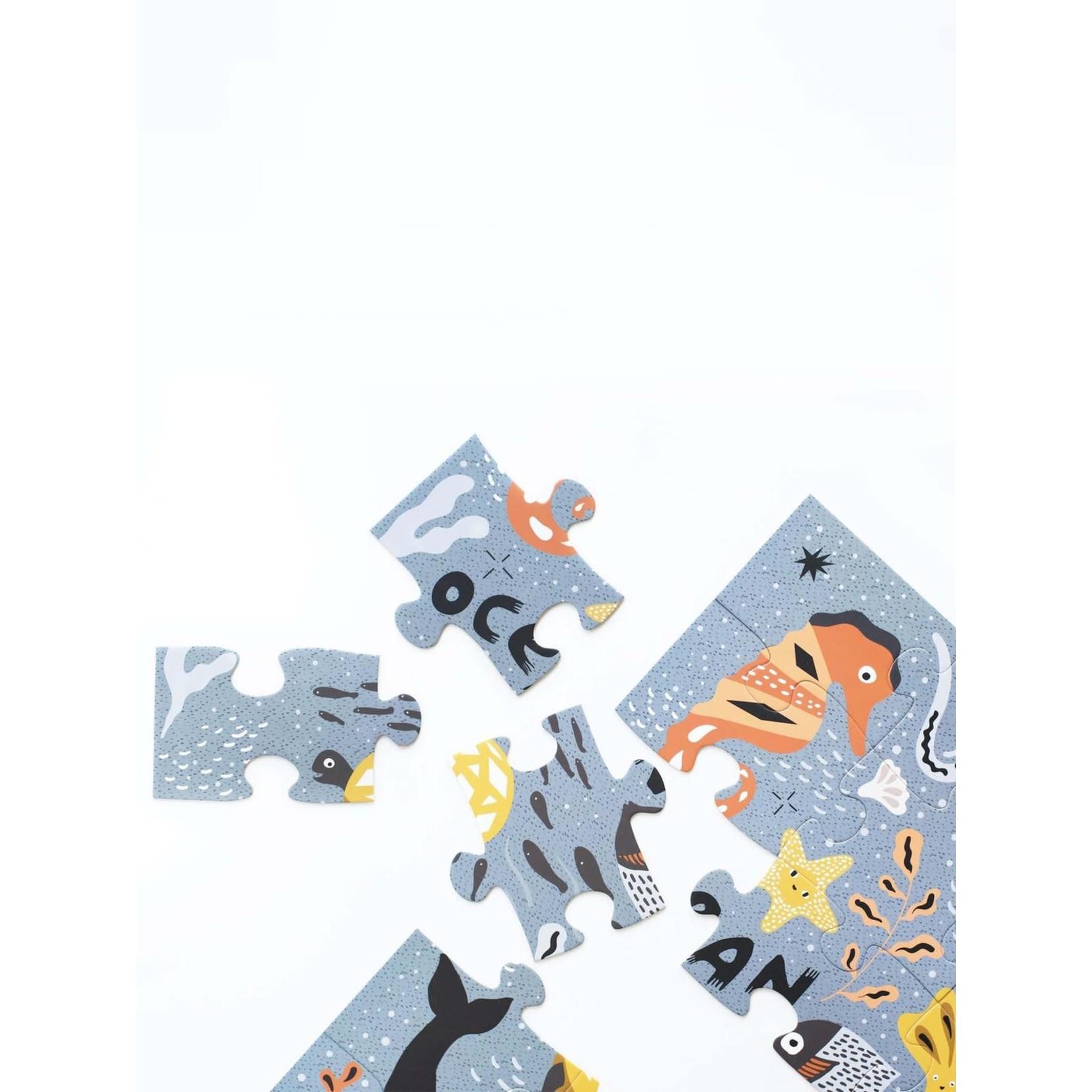 Ocean Life Floor Puzzle