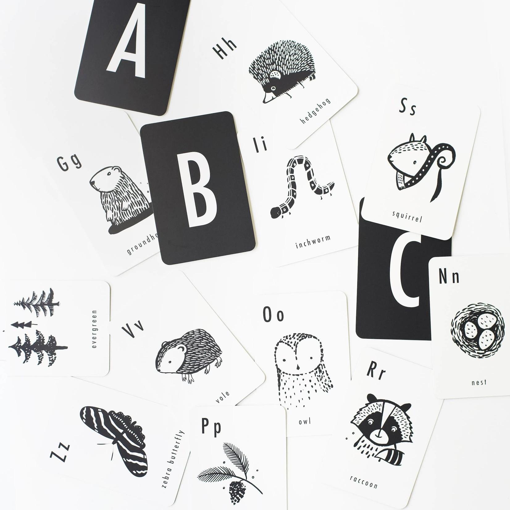Woodland Alphabet Cards