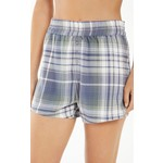 Z Supply Coed Plaid Flannel Boxer