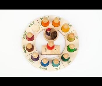 Grapat: Wood Perpetual Calendar