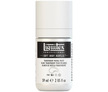 LIQUITEX SOFT BODY ACRYLIC TRANSPARENT MIXING WHITE 59ML