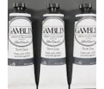 GAMBLIN ARTIST OIL PAINTS 37 ML TORRIT GREY