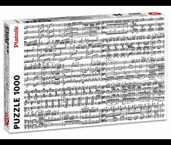 PIATNIK 1000 PC PUZZLE - MUSICAL NOTES
