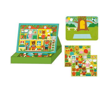 PETITCOLLAGE - MAGNETIC PLAY SCENE - TREEHOUSE PARTY