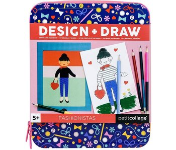 PETITCOLLAGE - DESIGN + DRAW FASHIONISTAS
